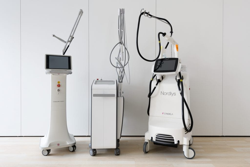 tecnología láser Corium Dermatology